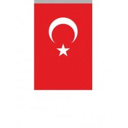 Alpaka Türk Bayrağı/004